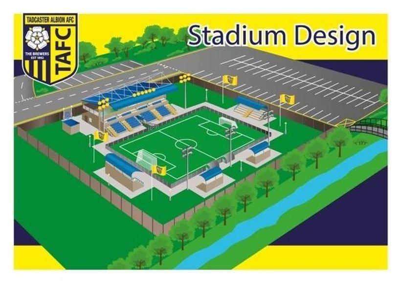 New Stadium Design News Tadcaster Albion Afc