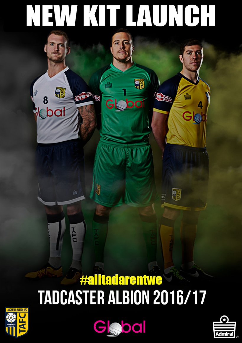 e5124e265 BREAKING NEWS  New Kit Sponsor Unveiled - News - Tadcaster Albion AFC