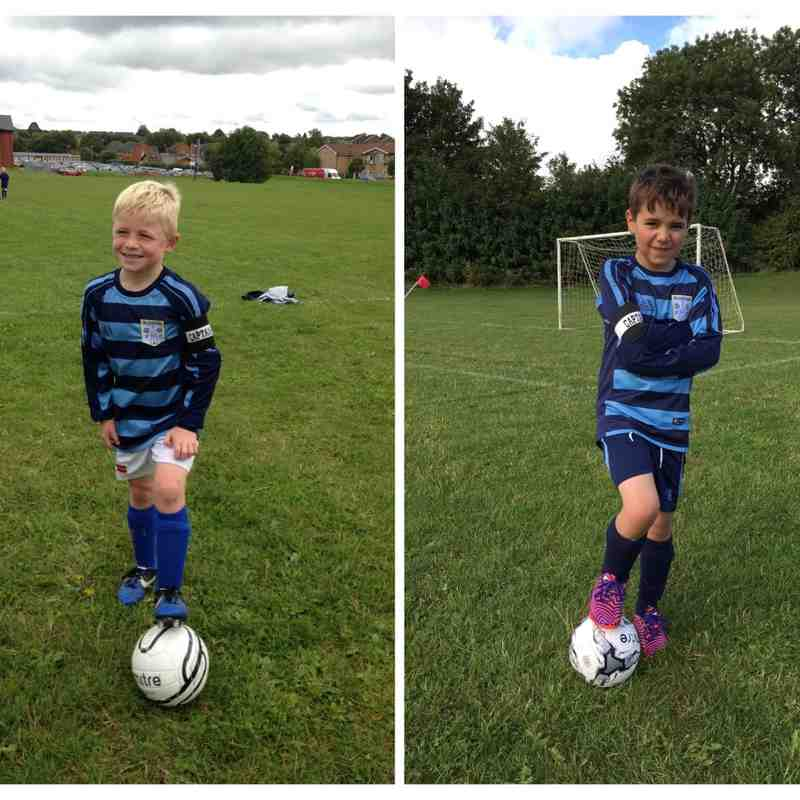 Bloxham Rangers FC - Under 8s v Brackley Athletic Jaffas - 12th September 2015