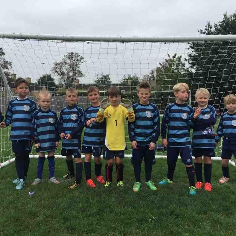 Bloxham Rangers FC - Under 8s v Easington Sports Red - 3rd October 2015