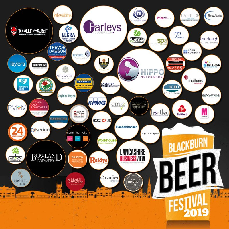 Blackburn Beer Festival is back on the 3rd, 4th and 5th May at Blackburn Rugby Club.