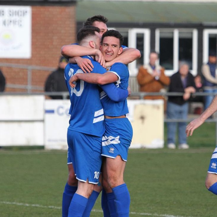 Kirkley and Pakefield 3-2 Newmarket Town <