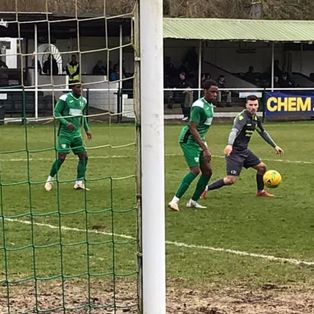 GUTSY ROCKS DEFEATED AT LEATHERHEAD
