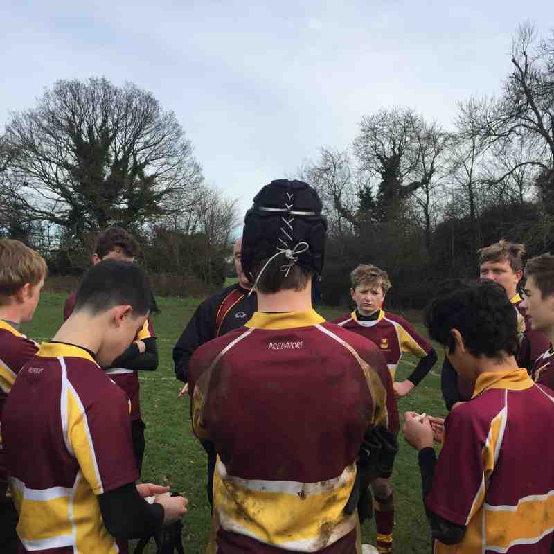 u14s v Datchworth at home Dec 2018