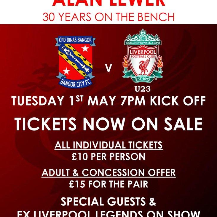 FIXTURE NEWS   Liverpool Under-23&#039;s Return to Nantporth<