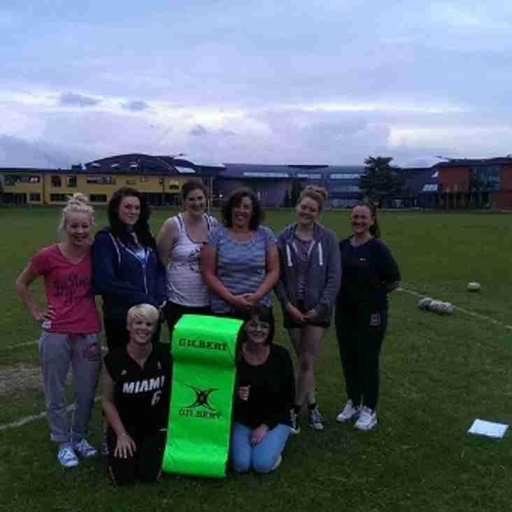Ladies Rugby Begins at Dartford