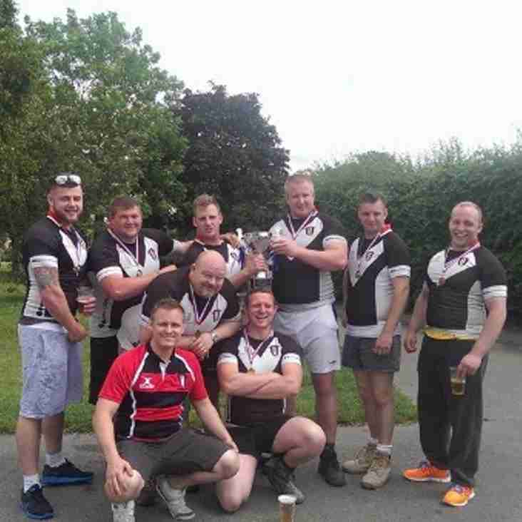 Dartford win Erith RFC Tug of War Competition