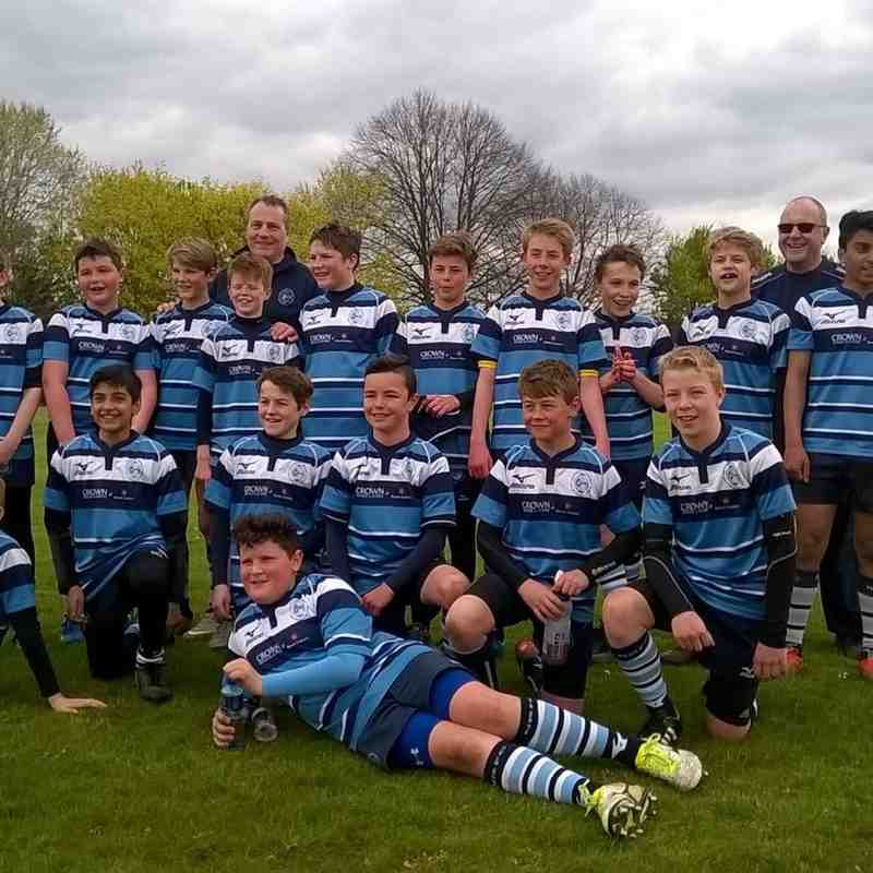 Maidenhead cup finals U13b's
