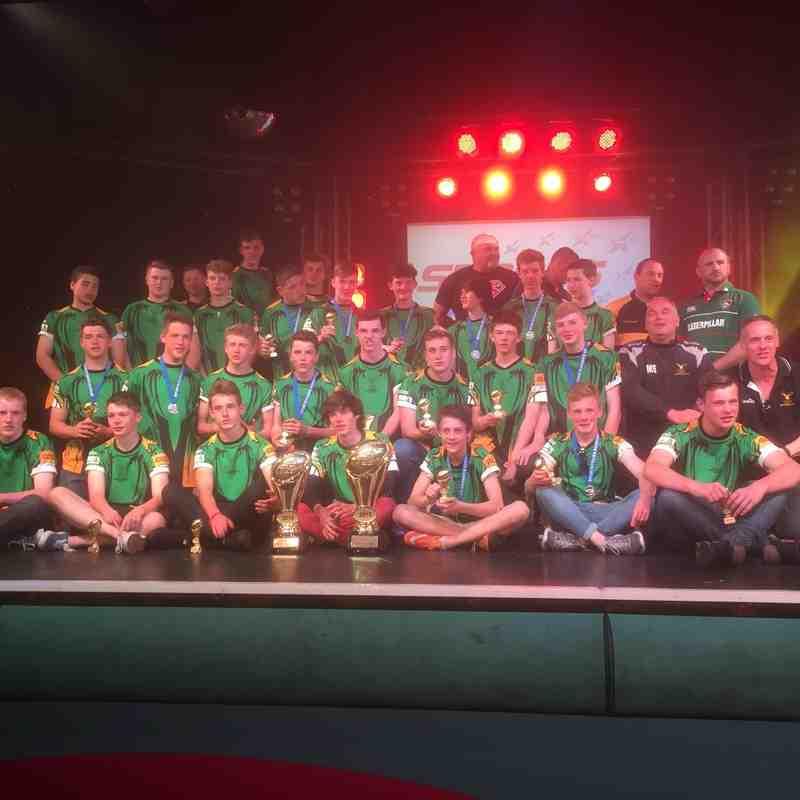Bracknell U15 teams on tour