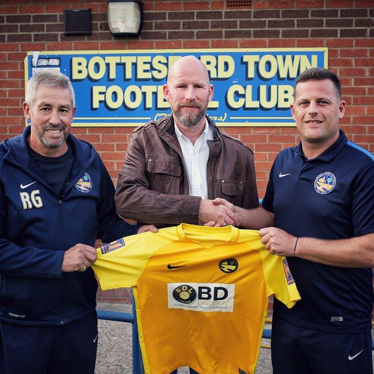 BDL Ltd Sponsor Bottesford Town FC shirt for the fourth year running<