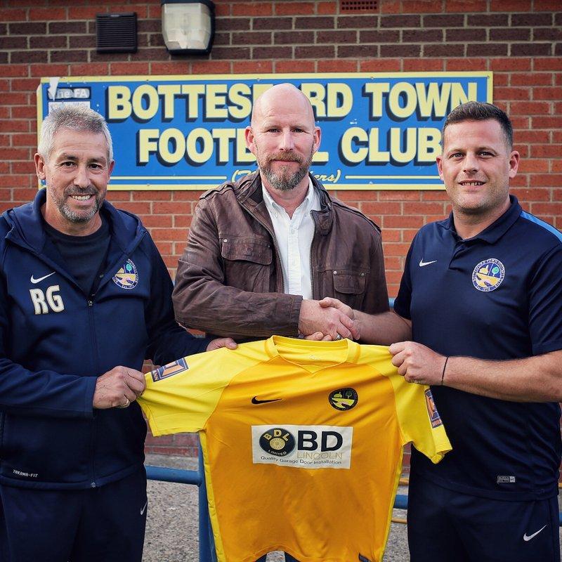 BDL Ltd Sponsor Bottesford Town FC shirt for the fourth year running