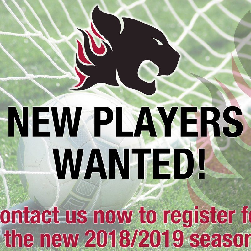 New Players Wanted For U9 Team