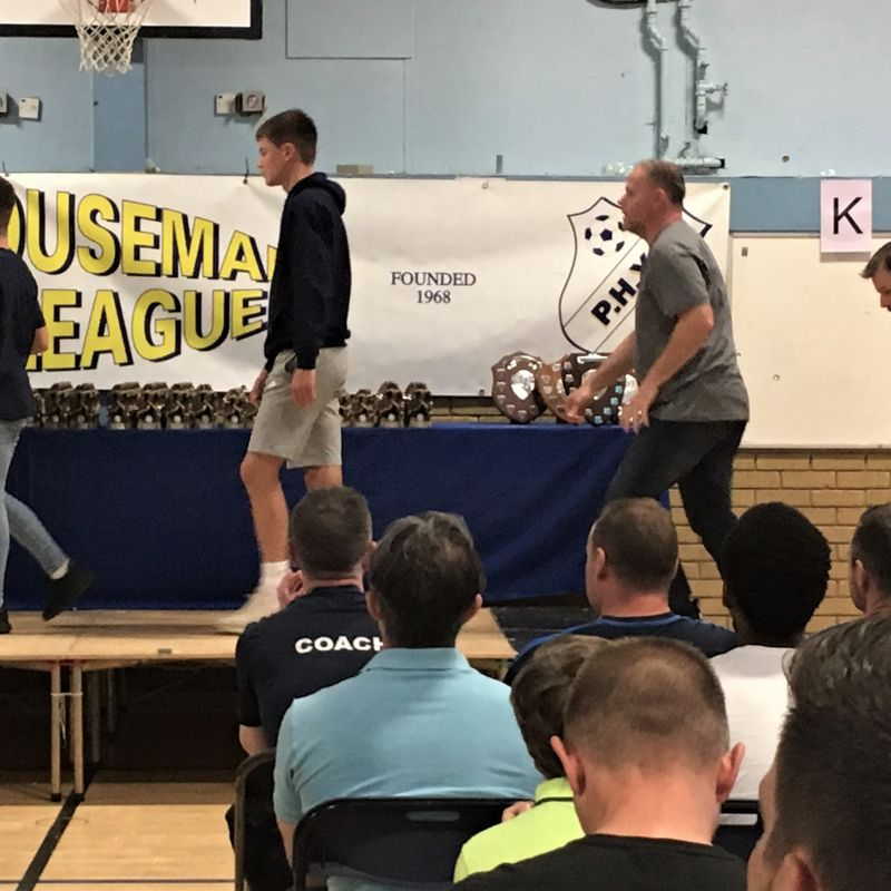 Peter Houseman Youth League Presentation Day!