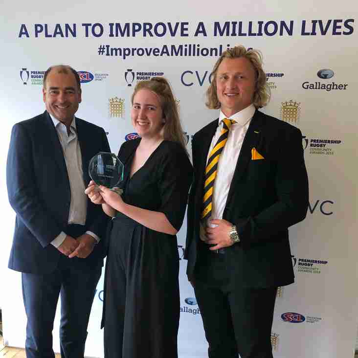Connie Perkins Wins Volunteer of the Year Award