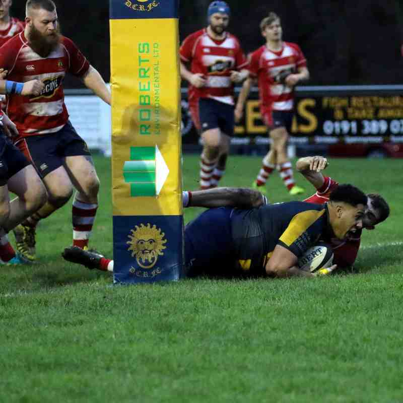 1st XV v Stockton - 8 December 2018