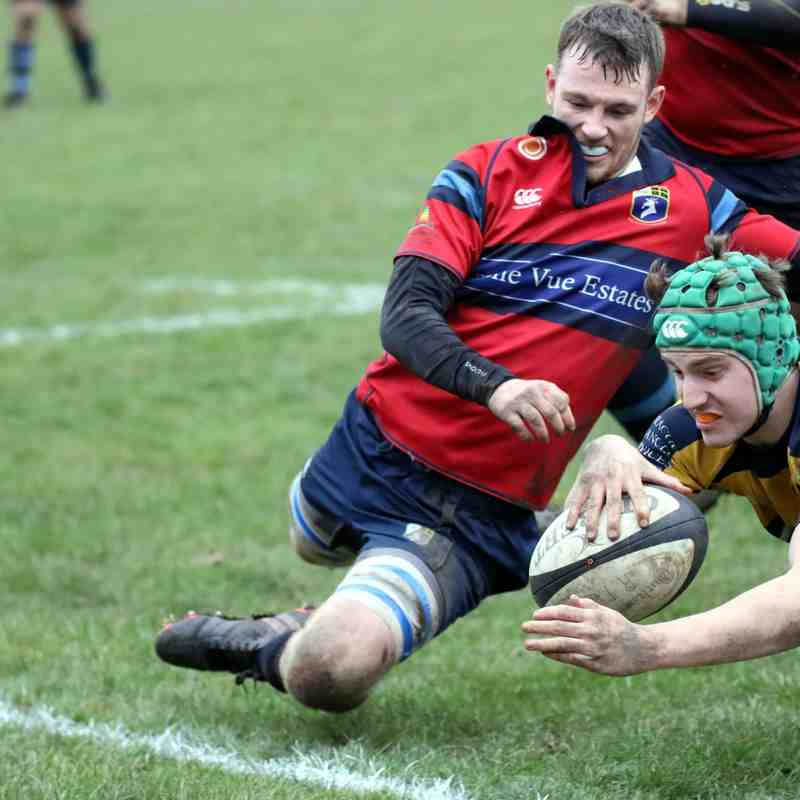 1st XV v Gateshead - 26 January 2019