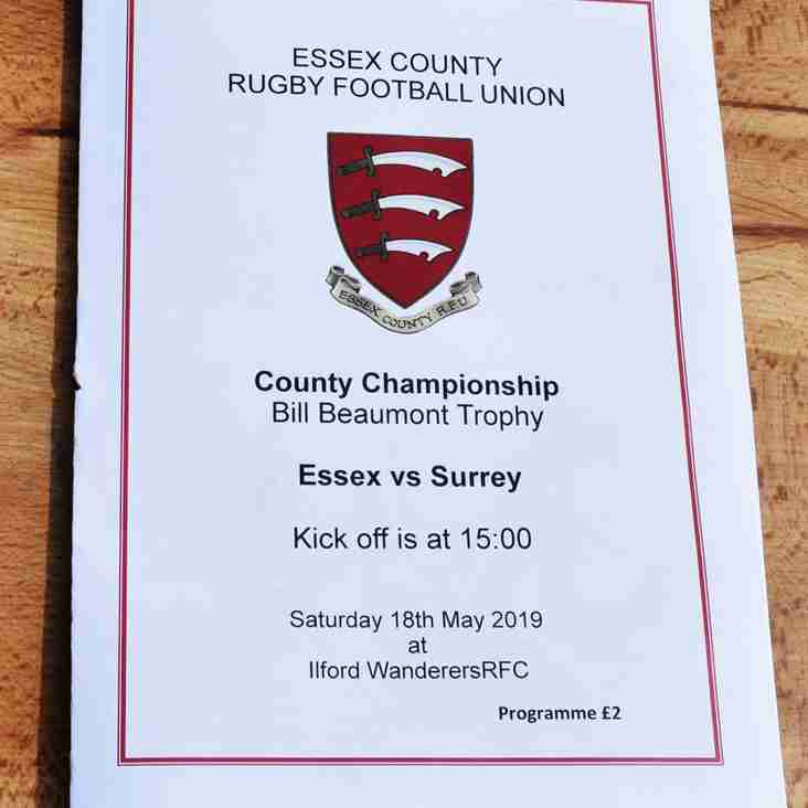 IWRFC HAD THE PRIVILEGE IN HOSTING ESSEX vs SURREY