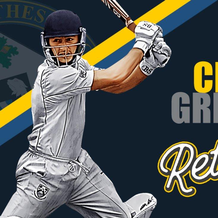 Chris Greaves Returns to Glens<