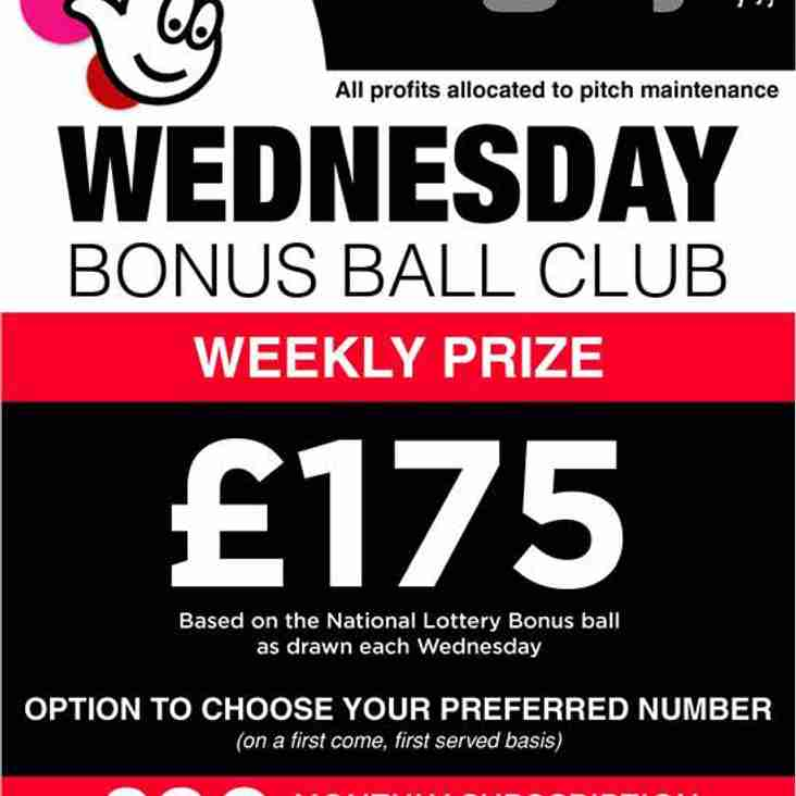 Do you want the chance to win £175 per week and help your club?