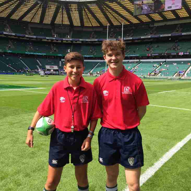 Young Match Officials visit Home of Rugby