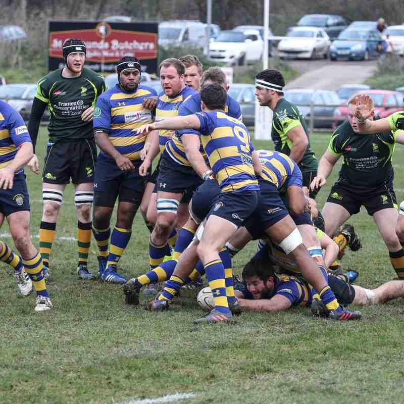 Wolfhounds v Old Elthamians 2's