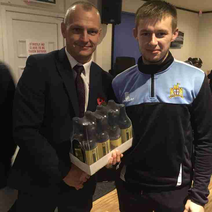 Player of the Month - October