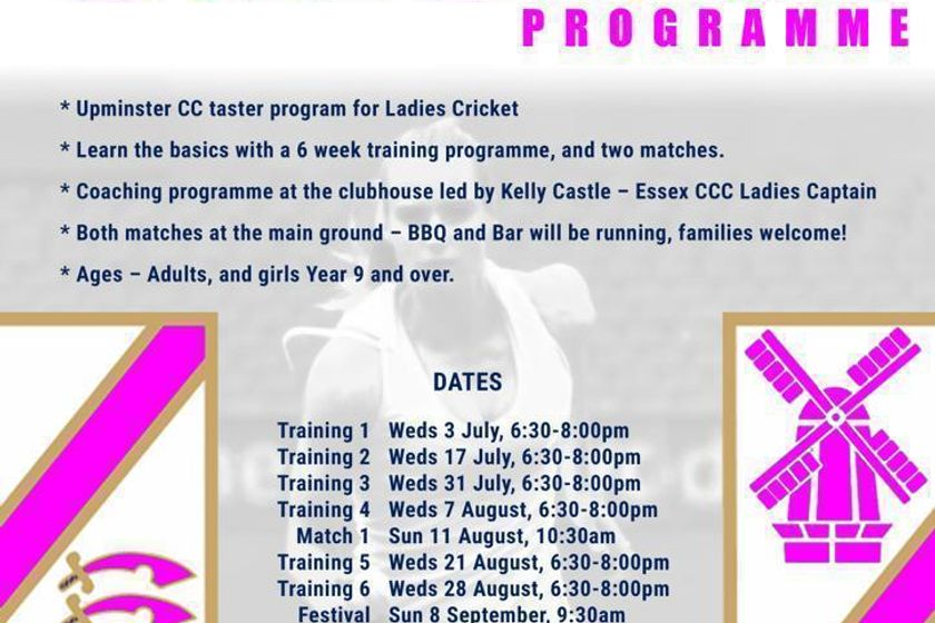 UCC Ladies Cricket – Continues 31st  July