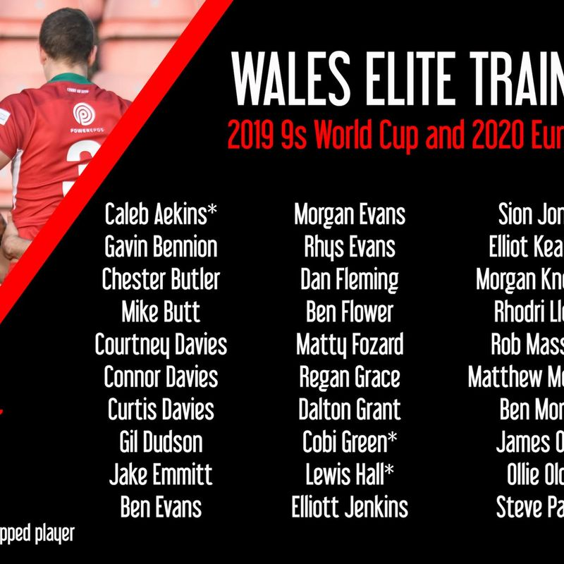Lewis Hall selected for Wales Elite Train on Squad