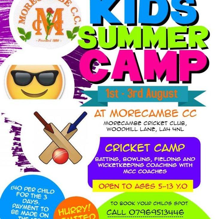 Kids Summer Cricket Camp<