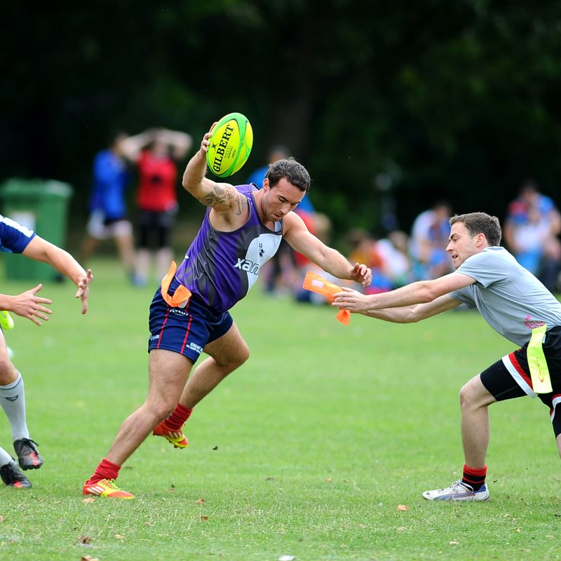 TRY ADULT TAG RUGBY:  FREE TASTER SESSIONS WEDNESDAY NIGHTS at ORFC
