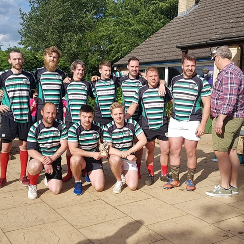 ORFC Plate Winners at Cotswold 7's