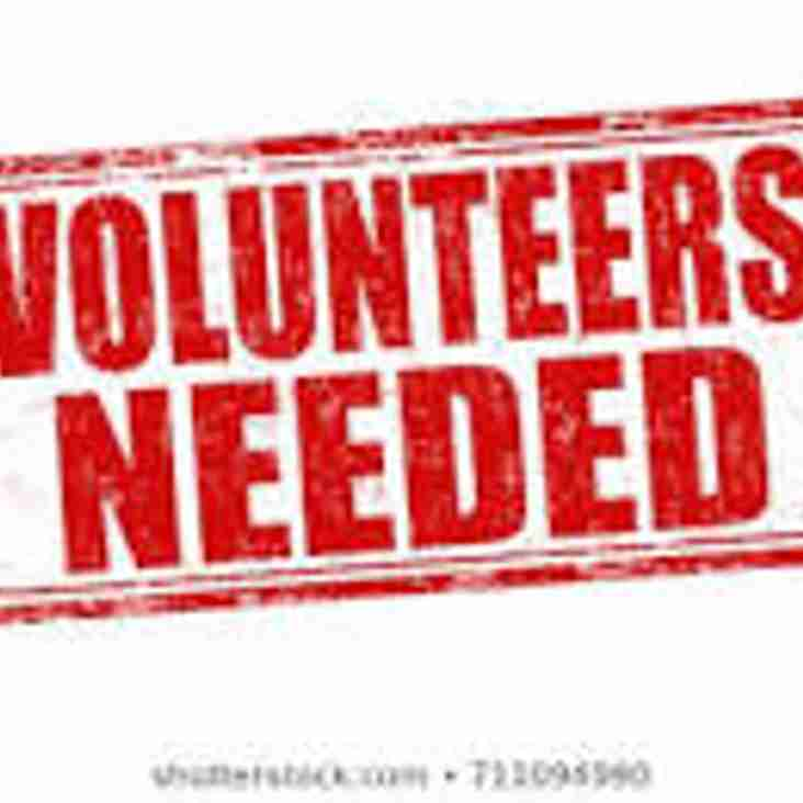 England v Italy - Volunteers Needed