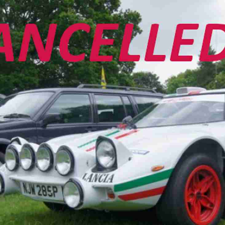 Classic Vehicle Gathering Cancelled