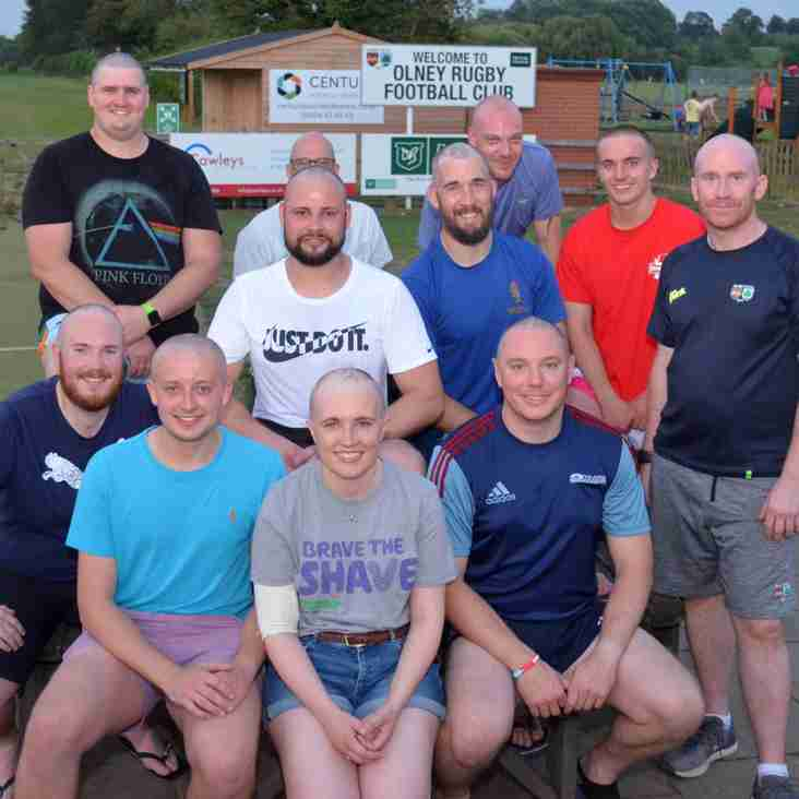 Bald moves by Olney RFC