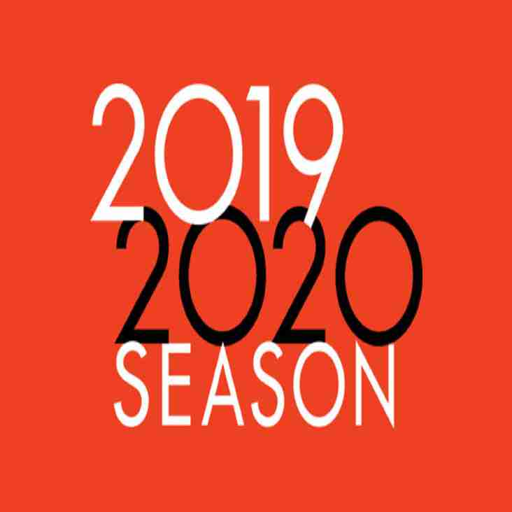 Fixtures out for 2019-20 Season!!