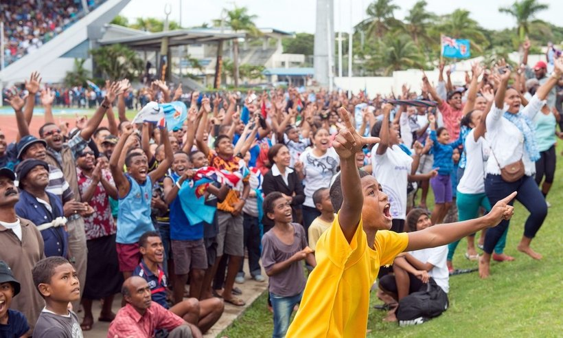 Rugby Is Our Religion Fiji Erupts In Celebration Of
