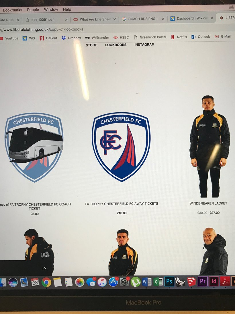 On line FA Trophy Ticket Coach Travel Portal for Chesterfield FC