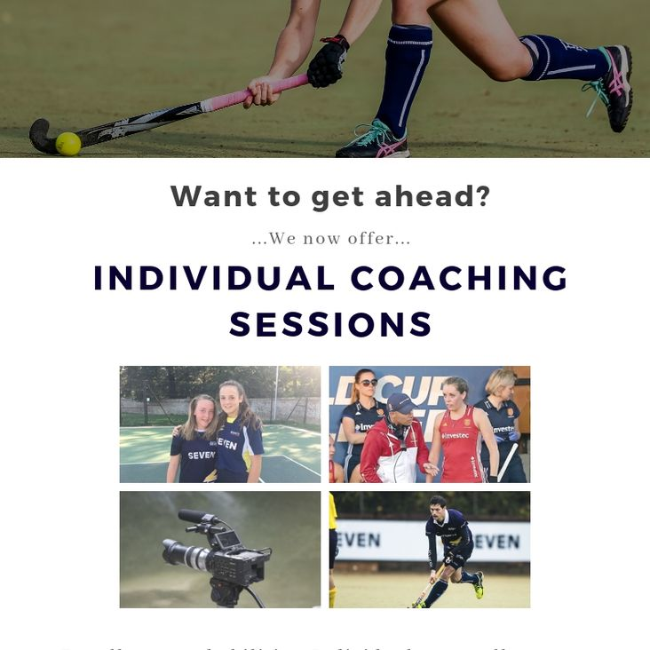 Book your 1v1 session now!<