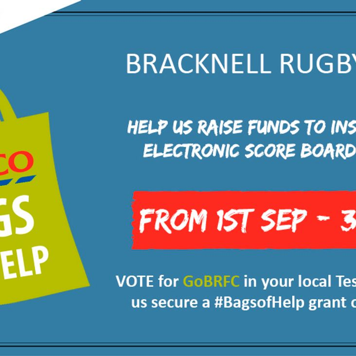 BRFC calls out for votes to bag a share of Tesco's bag fund<