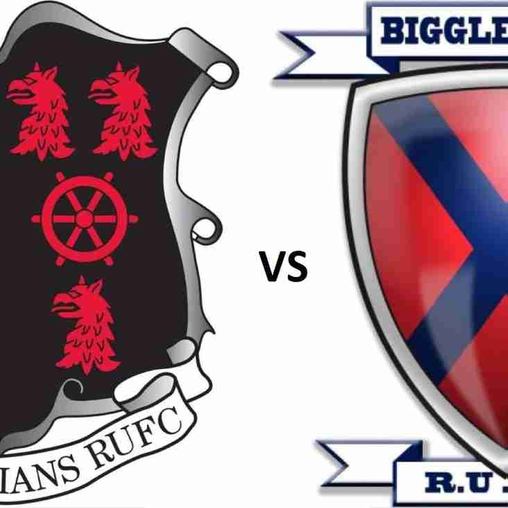 1st AWAY vs. Biggleswade - 3pm KO Sat 20 Oct 2018