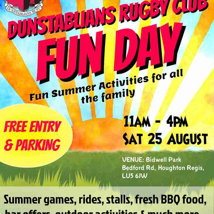 August Bank Holiday Family Fun Day