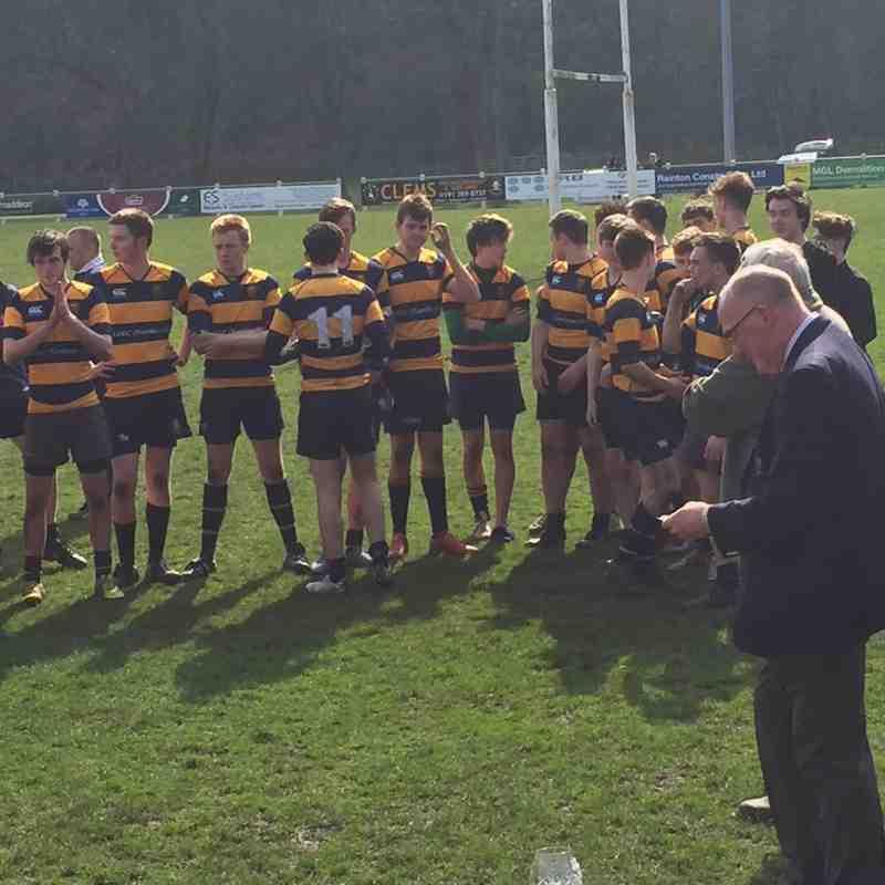 U17's against Rochdale