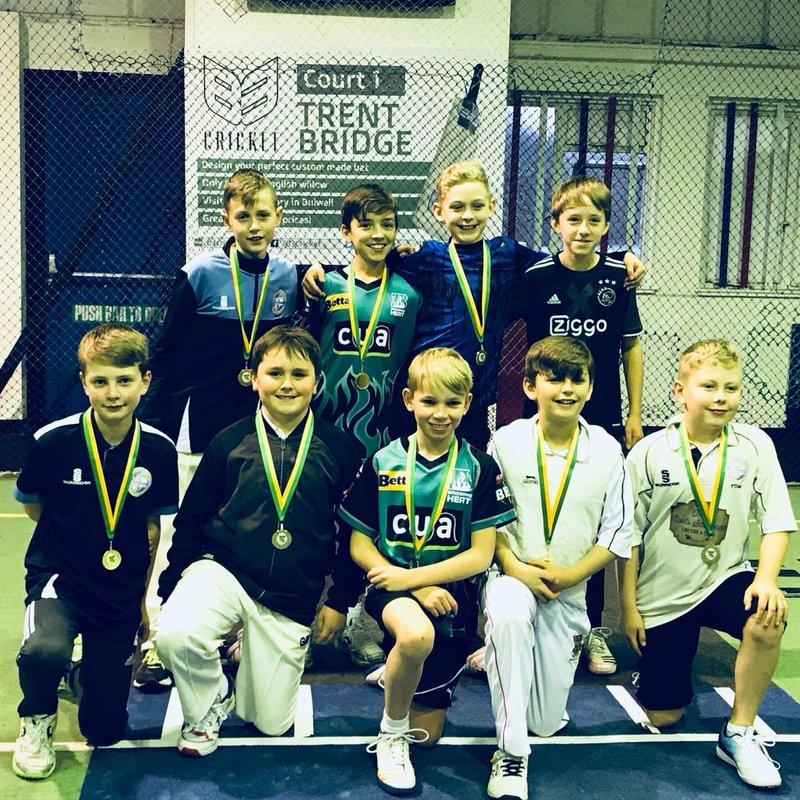 U11s win Indoor Cricket Tournament