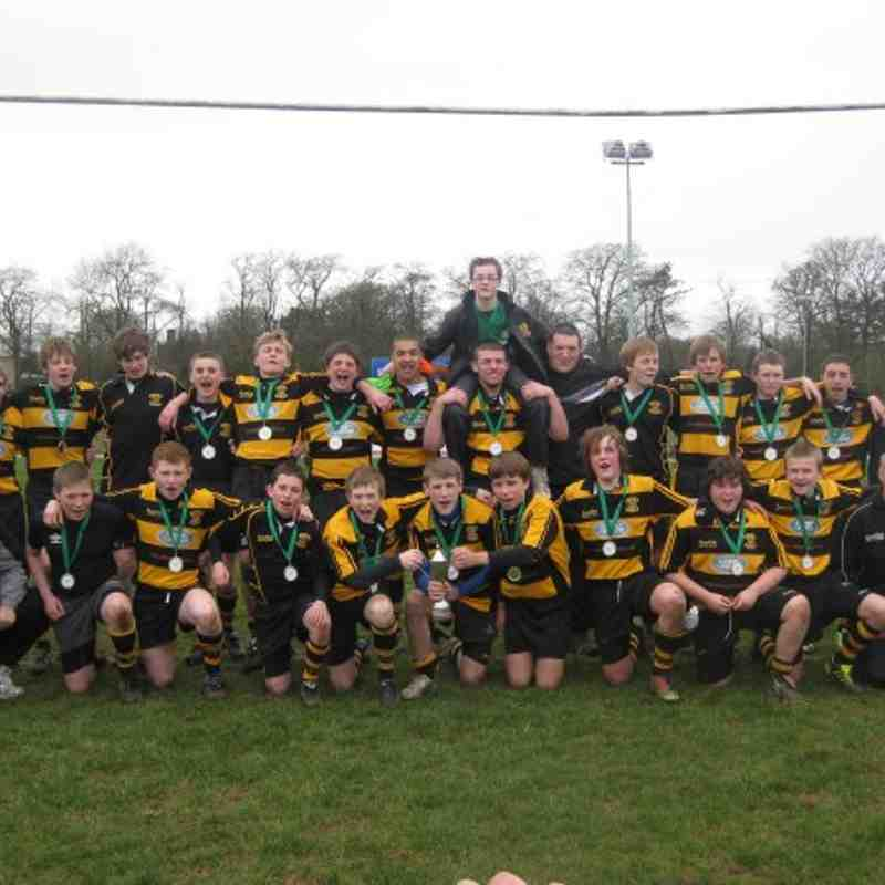 Stafford U14s win the County Cup - 2011