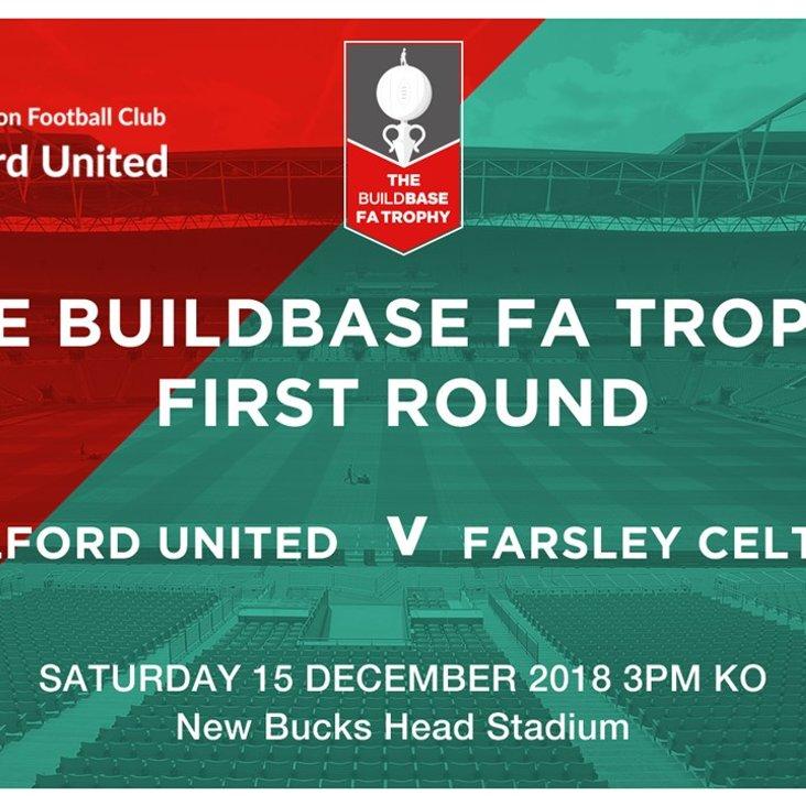 Match Preview:  AFC Telford United v Farsley Celtic<
