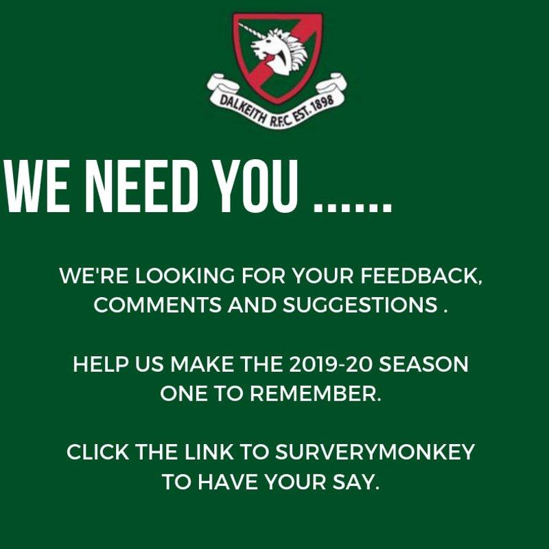 We need you...!