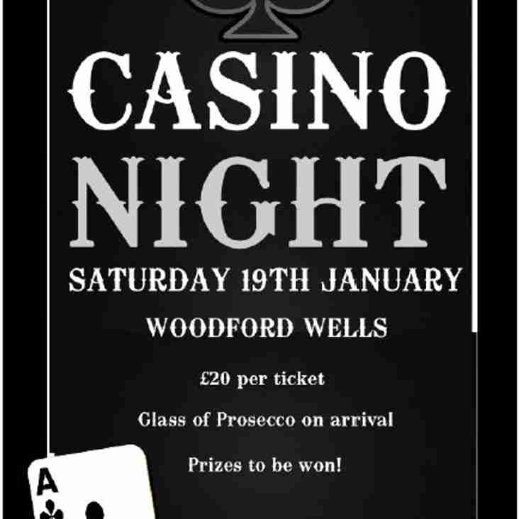 Casino Night At The Wells