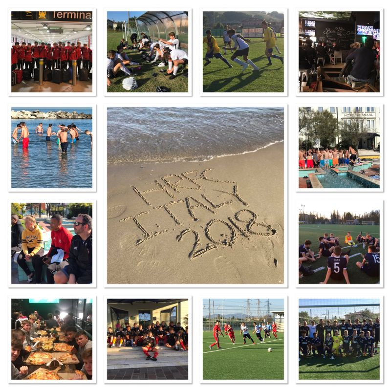 ITALIAN FERRETTI CUP EXPERIENCE FOR OUR U15 EJA SQUAD - OCTOBER 2018