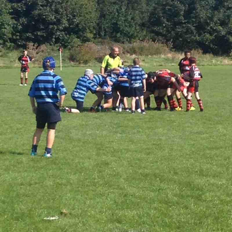 Liverpool Collegiate U13's v Wigan 2nd October 2016