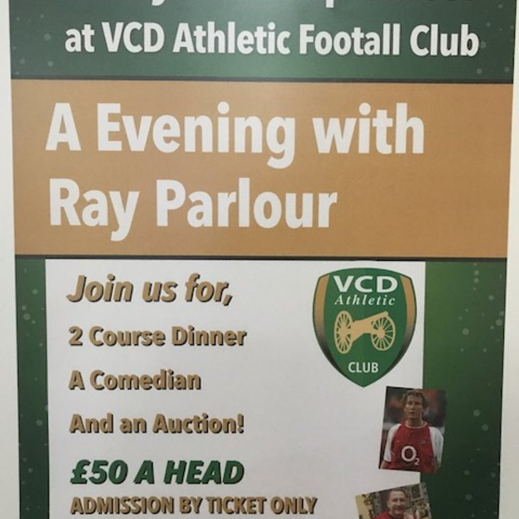 An Evening with Ray Parlour<